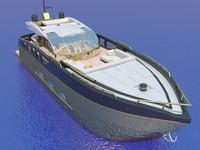 yacht baia 100 history 3d model