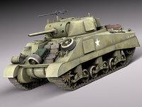 3dsmax tank equipment m4