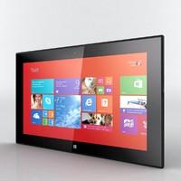 3d model nokia lumia 2520