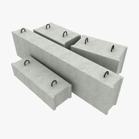 max concrete blocks