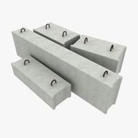 maya concrete blocks
