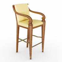 3d chair busnelli adamo