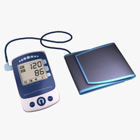 blood pressure monitor 3d 3ds