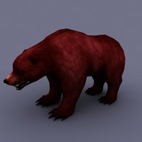 3dsmax bear cartoon toon