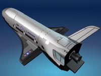 x-37b x 37 b 3d model