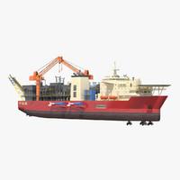 3d model fpu ship