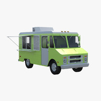 3ds food truck
