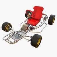 kart quads 3d model