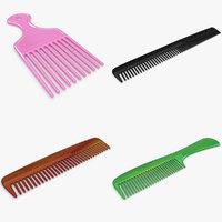 comb set 3d model