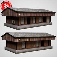 3d model of office house