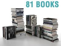 books 1 3d model