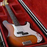 Guitar Fender Precision Bass and case