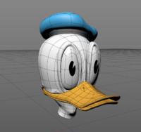 donald duck c4d