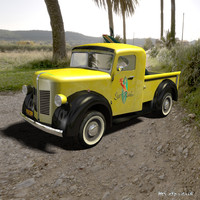 car forties games 3d model