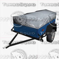 3d model trailer hindcarriage