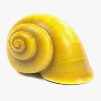 3ds snail shell