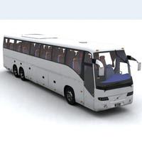 3d model bus car