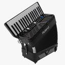 accordion 3D models
