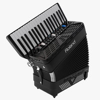 3d c4d accordion roland