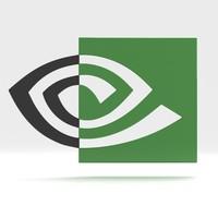 free nvidia logo 2014 3d model