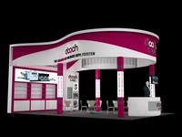 3dsmax exhibition design stand