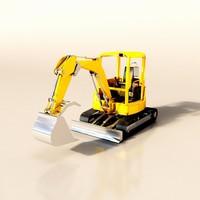 mini excavator max