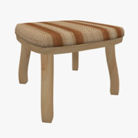chair stool 3ds