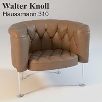 Walter Knoll Haussmann 310 Armchair