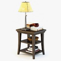 Pottery Barn Metropolitan Side Table