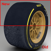 3dsmax pirelli tyre 18 inches