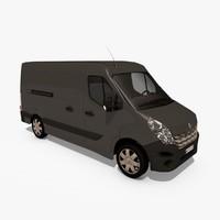 3d model renault master iii van