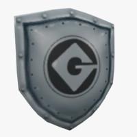 3d shield minion