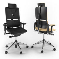 steelcase executive chair 3d model