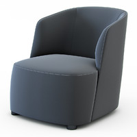 3d model of armchair felix roberto
