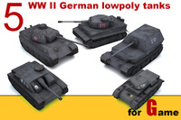 max ww ii german tanks
