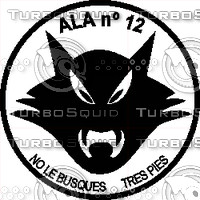 Ala 12 Decal