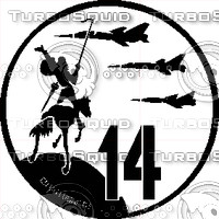 Ala 14 Decal