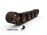 track panther 3d model