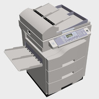 3d copy machine model