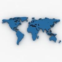 3d model world