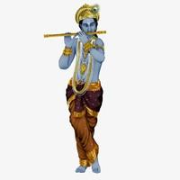 3d model krishna