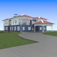 3ds max house-10 house