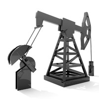 oil derrick animated