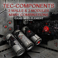 maya modules components