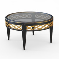 3d model coffee table bizzotto