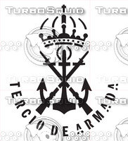 Tercio de La Armada Decal