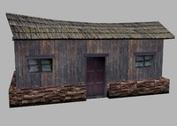 3ds max old house