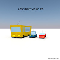 3ds max vehicles bus car