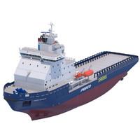 3d max icebreaker fesco sakhalin