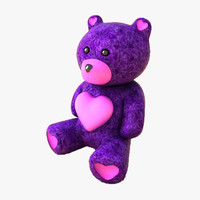 teddy brown bear 3d model